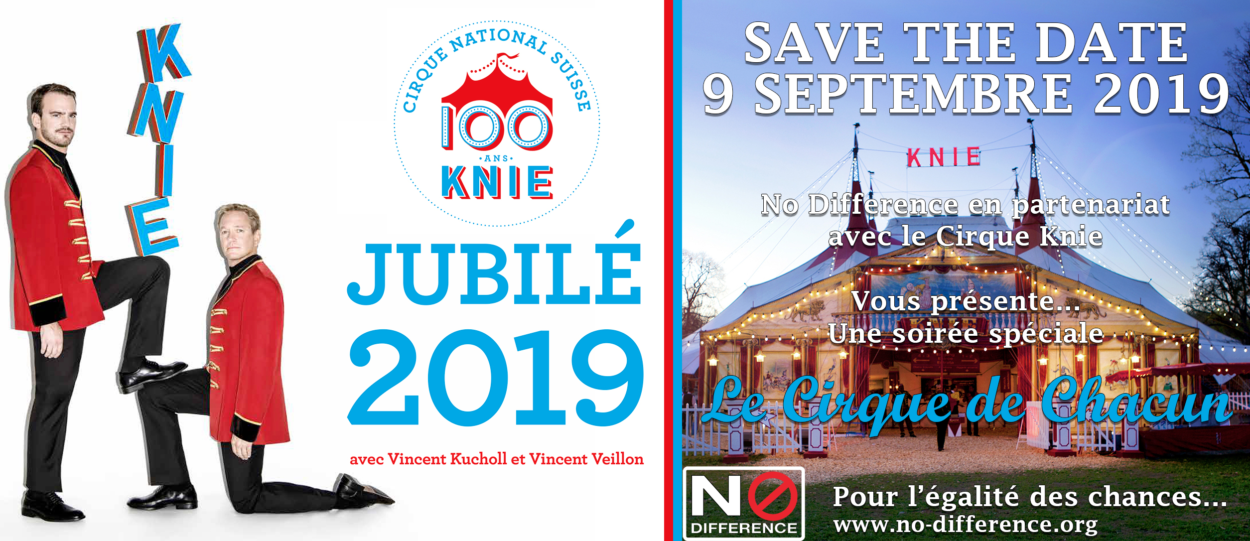 Save the Date Knie 2019